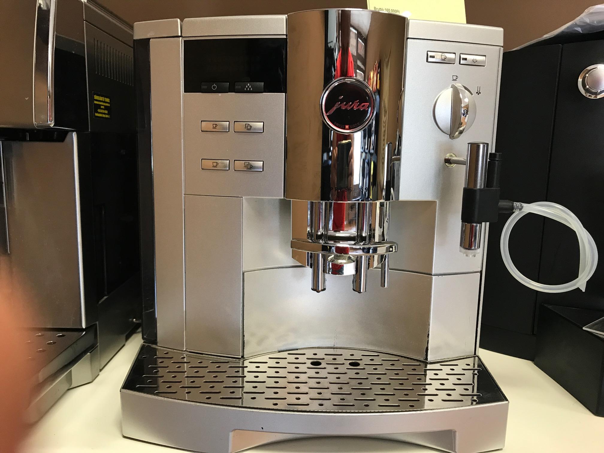 Jura Impressa S9 Avantgarde felújított automata kávégép 12 hónap garanciával