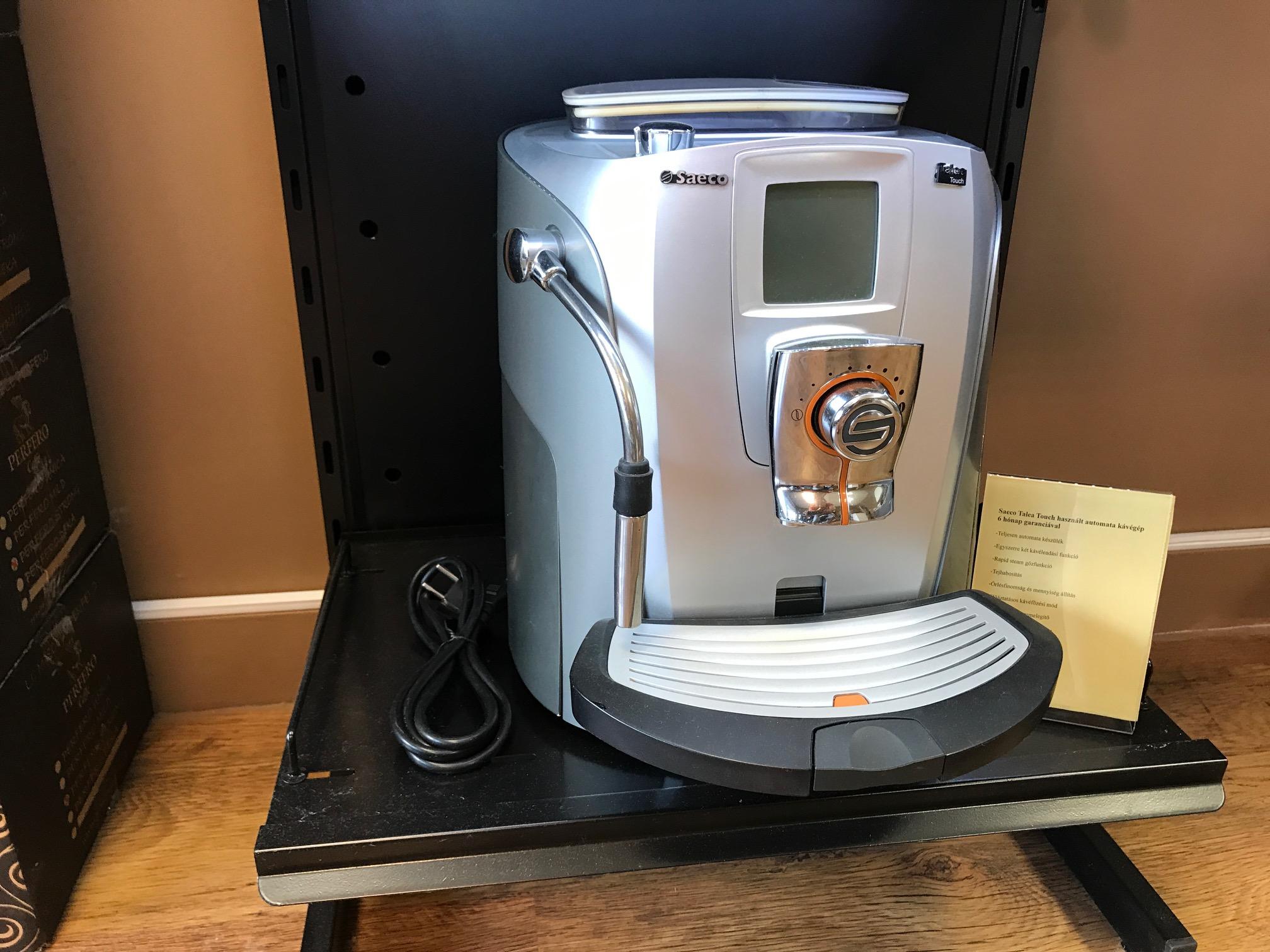 Saeco Talea Touch felújított kávégép , kávéfőző 12 hónap garanciával
