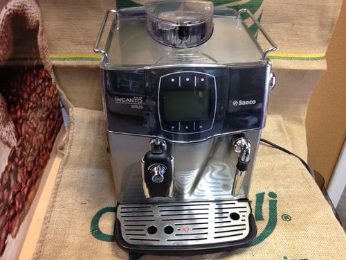 Saeco Incanto Sirius felújított kávégép 12 hónap garanciával