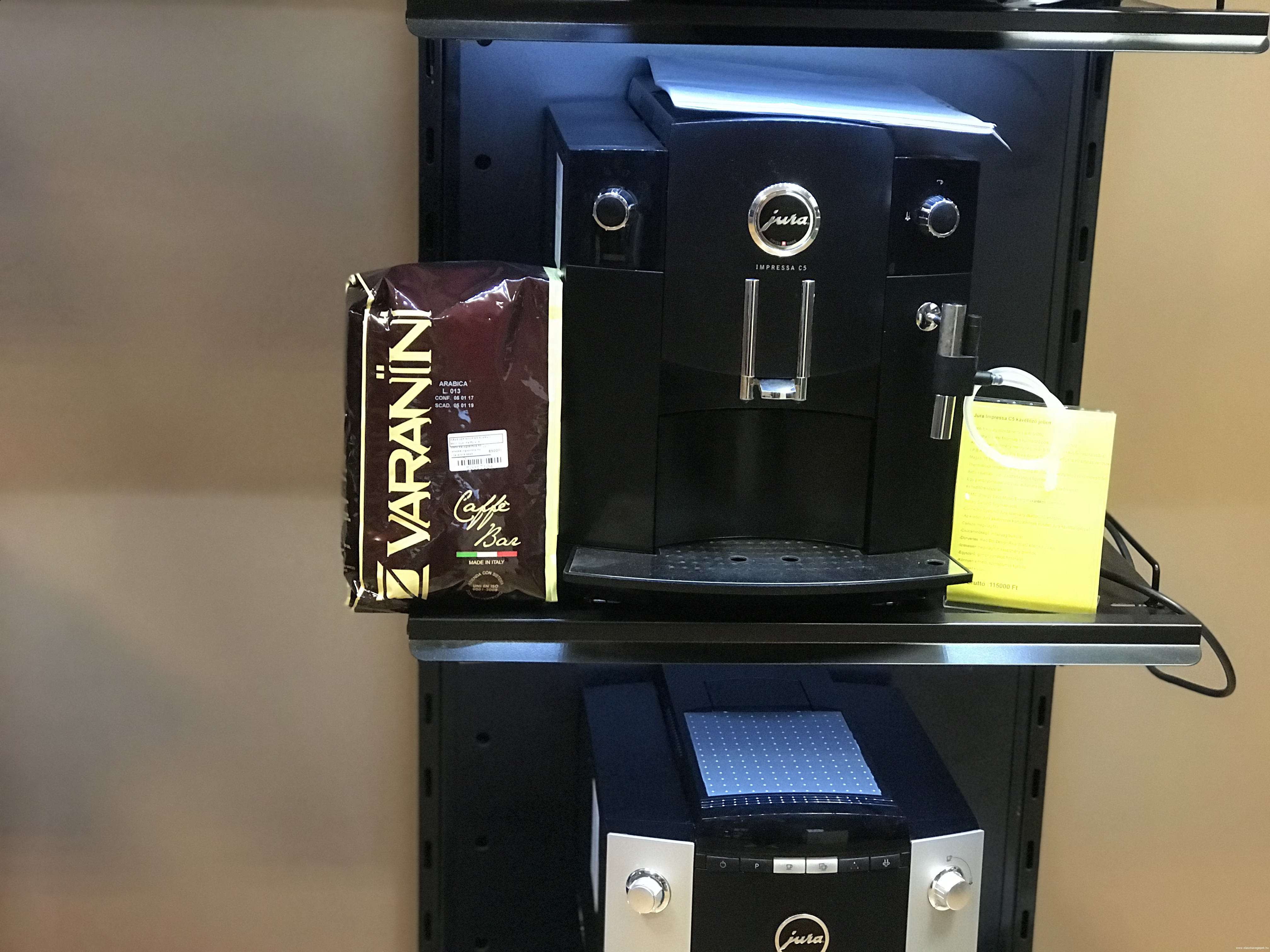 Jura Impressa C5 felújított kávégép 12 Hónap garanciával