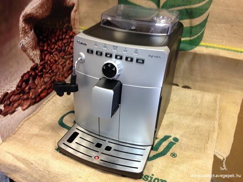 Saeco Intuita használt automata kávégép